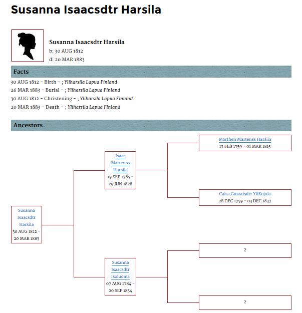 genealogypage